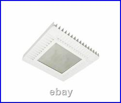16x16x 2-1/2 LED Canopy Light 120W Hubbell Lighting CLED-HL-7-UNV-S5-WH-MP-DL
