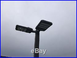 180 Watt Phillips LED Pole Light fixture, parking lot outdoor