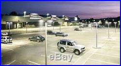 185w LED Parking Lot shoebox Light Fixture UL DLC approved 5yrs warranty