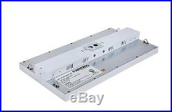 1 X 2 Foot Linear High Bay LED Dimmable Shop Light Fixture Warehouse 5000K