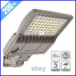 200W Barn Driveway LED Security Lights Commercial LED Parking Lot Shoebox Lights