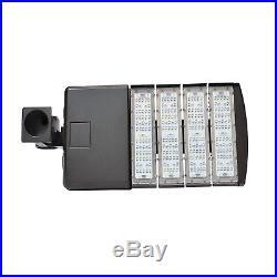 200W LED Large Parking Lot Area Light Shoebox Pole Fixture Outdoor Sign Garage