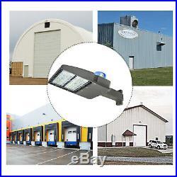 200W LED Light Shoebox Electric Parking Lot module Outdoor Street Area Road Lamp