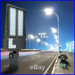 200W LED ShoeBox Light Adjustable Angle Street Light Parking Lot Lamp 24000LM US