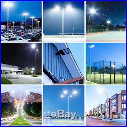200W LED Street Light 24000lm 110V-277V Lamp LED Parking Lot Light Outdoor