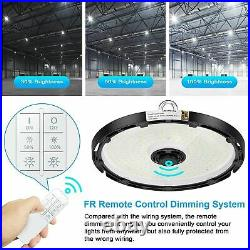 200W LED UFO High Bay Light Remote Wireless Dimmable Industrial Warehouse Light