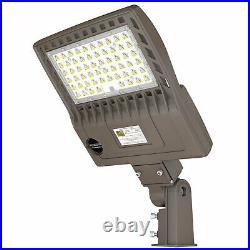 200Watt LED Parking Lot Light 5000K Shoebox Commercial Street Area Pole Lighting