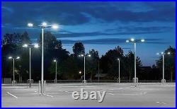 200w Led Shoe Box Light (photocell/short Cap 5000k 28000 Lumens Ul Approved)