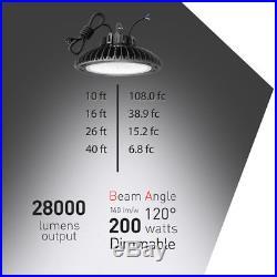 200watt 150watt LED High Bay Light Warehouse shop lights fixture UL DLC 4.2