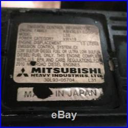 2010 Magnum MLT3060M Light Tower Mitsubishi Diesel Engine Marathon Generator