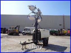 2016 Atlas Copco Hi Light V4 Light Tower Generator Genset Only 288 Hours