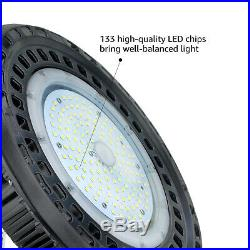 20Pack LED High Bay Light, AC120-227V, 0-10v Dimmable, Industrial Warehous 5500k