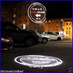 20W Desktop/ Mountable LED Gobo Projector Advertising Logo Light + 2 Color Gobos