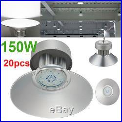20X 150W Watt LED High Bay Light Lamp Warehouse Fixture Factory Shed Lighting