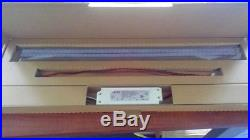20 PACK 32w 2'x4' 5000K Magnetic LED Troffer Retrofit Kits DLC Listed