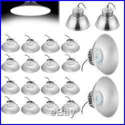 20pcs 100W LED High Bay Light Warehouse Light Bright White Fixture Factory Lamp