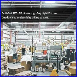 220W 4FT LED High Bay Shop Light Warehouse Factory 26500LM 5000K (Daylight)
