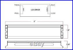 220 Watt LED High Bay Light for Warehouse Shop, 5000 Kelvin, 5 Year Warranty DLC