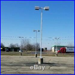 22 Foot Parking Lot, Steel Light Pole, Yard Decor, Parking Lot, $125 each (19)