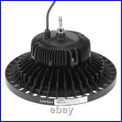 24000LM 200W UFO High Bay Light LED Fixture Warehouse Gym Factory Shop Lamp X4I5