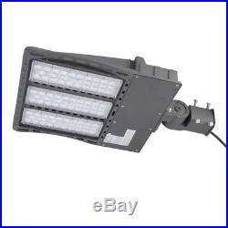 240W LED Dusk to Dawn Shoebox Fixture ETL DLC Parking Lot Street Light Pole VIP