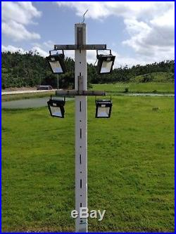 240W Led Outdoor Flood Light Replace 1000W Metal halide Parking Lot Light 5700K