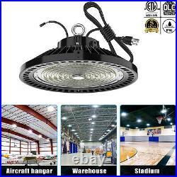 240Watt UFO LED High Bay Light 240W Work Shop Warehouse Lighting DLC ETL 5000K