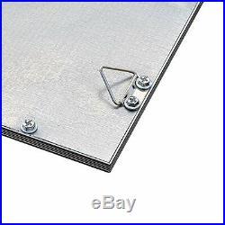 24x24-Inch LED Panel Light 45-Watt Edge-Lit Super Bright Ultra Thin Glare-Free