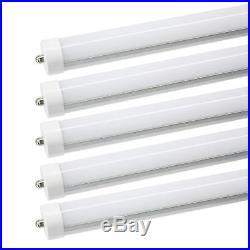 25-Pack 8FT LED Tube Light 45W Single Pin FA8 Fluorescent Bulbs 6000K Free Ship
