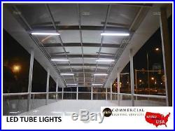 25 Pack LED TUBE LIGHT 18W 4' Flourescent Replacement UL/DLC CERTIFIED