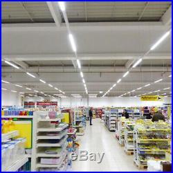 2FT 4FT 8FT T8 LED Tube Light Bulbs 6000K Integrated Shop Light Fixture 2-25PCS