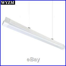 2PACK 4ft LED Vapor Proof Fixture, LED Shop Light 40W 4500LM, 5700K Daylight White