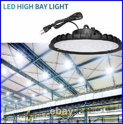 2Pcs 200W UFO High Bay Light 6000K LED Work Shop Warehouse Industrial Lighting