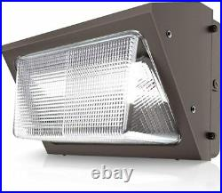 2Pcs-Pack 60Watt Outdoor LED Wall Pack Light 5000K Replace300-400WMH I65