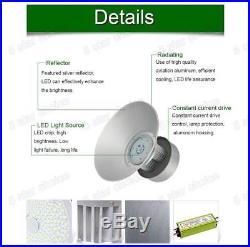 2X 150W Watt LED High Bay Light Lamp Warehouse Fixture Factory Shed Lighting