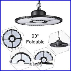 2X 300W UFO LED High Bay Light Gym Factory Warehouse Industrial Shed Lighting