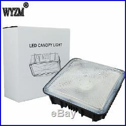 2 × 70Watt LED Canopy Light 8400LM 5500K Super Bright for Gas Sation Fixture