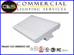 2' LED High Bay Shop Light 105W Bright 14500lm 5000K Dimmable Commercial Fixture