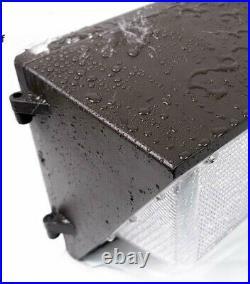 2-Pack 125Watt Outdoor Led Wall Pack Light 5000K UL DLC Replace1000MH IP65