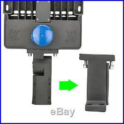 2 Pack 200W LED Shoebox Area Light Replace 600Watt Parking Lot Arm Mount