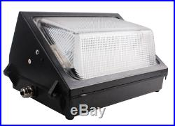 2-Pack 60W OUTDOOR LED WALL PACK UL DLC 5000K, IP65 REPLACES 250-400W MH