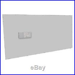 2' x 4' LED Panel Light 60W 4000K White Ceiling Retrofit Recessed UL 380W Equiv