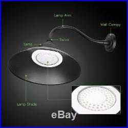 2 x Outdoor LED Gooseneck Barn Light Yard Street Security Light Dusk to Dawn 42W