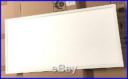 2pcs UL DLC 105lm/W 50W LED Drop Ceiling 2x4' 4000K Comercial Panel Light
