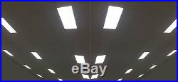 2x4' 50W DLC4.2 Commercial UltraThin Drop Ceiling Dimmable LED Panel Light 2pack