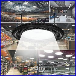 300W 250W 200W 150W LED High Bay Light Warehouse Industrial Fixture UFO Shop Lam
