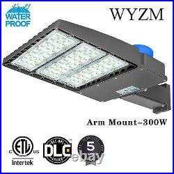 300W LED Light Shoebox Street Electric Parking Lot module Outdoor Area Lighting