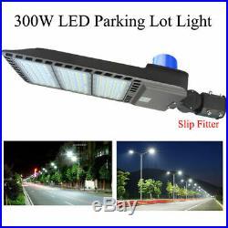 300W LED Parking Lot Light 45,000 Lumens 100-277V LED Shoebox Area Lighting