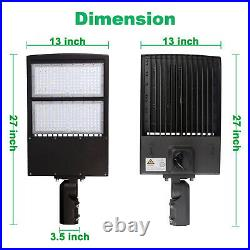 300W LED Parking Lot Light 5000K Replace 800W MH/HPS Street Area Pole Fixture UL