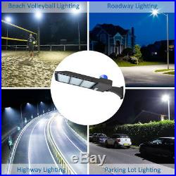 300W LED Parking Lot Pole Light Outdoor Basketball Tennis Court Area Light 5500K